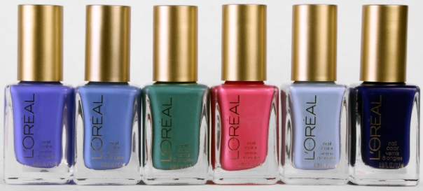 L'Oreal Paris Colour Riche Nail Miss Denim Collection Shot